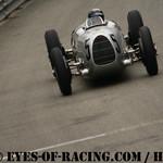 "Parade Flèches d'Argent "" AUTO UNION by Chopard "" - Jacky ICKX - Auto Union Type C - 1936 - 1937 - Rascasse"